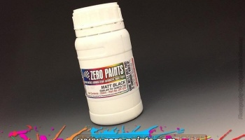 Matt Black Paint - Similar to TS6 (250ml) - Zero Paints
