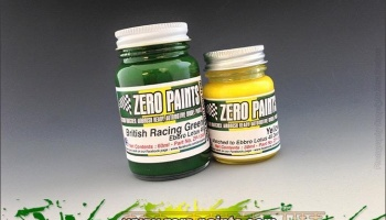Lotus 49 Paint Set - 60ml Green & 30ml Yellow (Ebbro) - Zero Paints