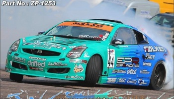 Team Falken Green and Blue Paints - Zero Paints