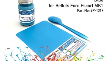 Ford Escort Mk1 WRC Blue Paint 60ml (Belkits)- Zero Paints