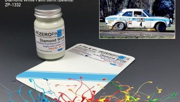 Ford Escort RS1600 Mk1 WRC Diamond White Paint 60ml (Belkits) - Zero Paints