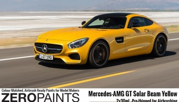 Mercedes-AMG GT Solar Beam Yellow Paint Set 2x30ml - Zero Paints