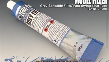 Grey Model Filler/Putty (Fine) 180g - Zero Paints