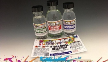 Clear Coat 2 Pack (Urethane) - Zero Paints