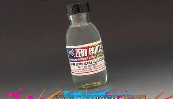 Spare 2 Pack Gloss Clearcoat 100ml - Zero Paints