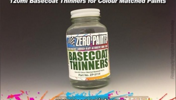 Basecoat Thinners 120ml - Zero Paints