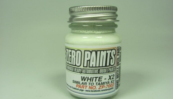White similar to Tamiya X2 - 30ml Pre-thinned - Zero Paints