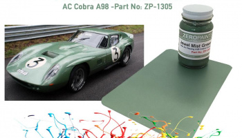 AC Cobra Coupe A98 Le Mans 1964 Jewel Mist Green Paint 60ml - Zero Paints
