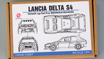 Lancia Delta S4 Detail Set for Beemax 24020 - Hobby Design