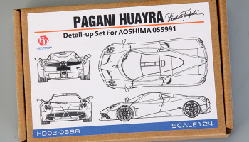 Pagani Huayra Detail Set for Aoshima 05599 - Hobby Design