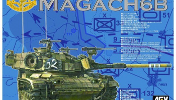 IDF M60A1 Magach 6B (1:35) - AFV Club