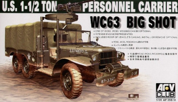 WC63 1,5t 6x6 Personnel Carrier (1:35) - AFV Club