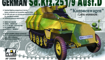 Sd.Kfz. 251/9 ausf.D Late (1:35) - AFV Club
