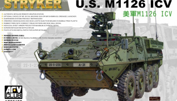 US M1126 Stryker ICV (1:35) - AFV Club