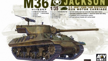 M-36 Tank Destroyer (1:35) - AFV Club