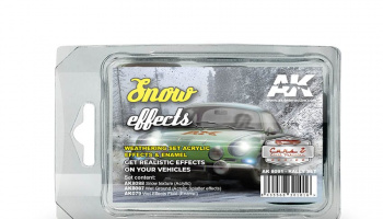 SNOW EFFECTS (RALLY SET) - AK-Interactive