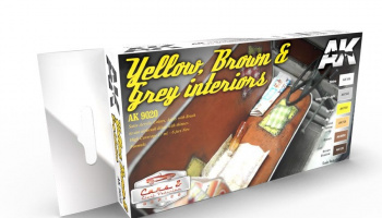 YELLOW, BROWN & GREY INTERIORS - AK-Interactive