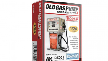 OLD GAS PUMP SINGLE HOSE / TYPE A - AK-Interactive