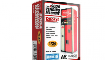 SODA VENDING MACHINE / TYPE A - AK-Interactive