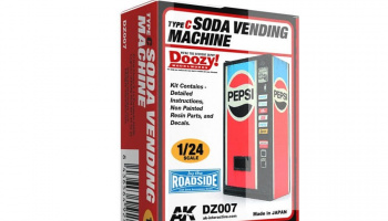 SODA VENDING MACHINE / TYPE C - AK-Interactive