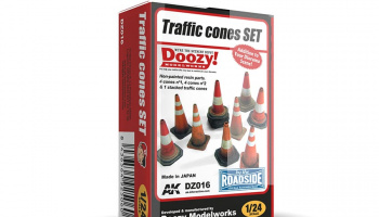 TRAFFIC CONES SET - AK-Interactive