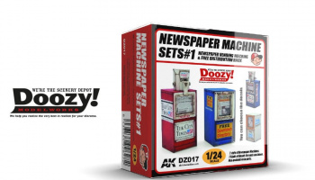 NEWSPAPER MACHINE SET#1 - AK-Interactive