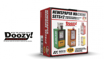 NEWSPAPER MACHINE SET#2 - AK-Interactive