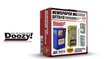 NEWSPAPER MACHINE SET#3 - AK-Interactive