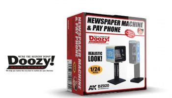 NEWSPAPER MACHINE & PAY PHONE - AK-Interactive