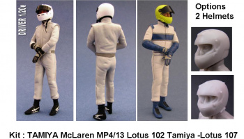 Driver Figure McLaren MP4/13, FW24, Lotus - GF Models