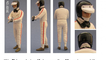 Driver Figure Lotus 49 1/20 - GF Models