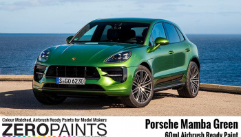 Porsche Mamba Green Paint 60ml - M6S - Zero Paints