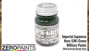 Imperial Japanese Army (IJA) Green Paint 30ml - Zero Paints