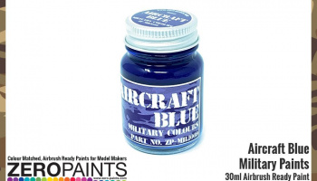 Aircraft Blue BS108 Paint 30ml - Zero Paints