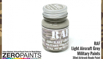RAF Light Aircraft Grey BS627 Paint 30ml - Zero Paints