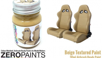 Beige Textured Paint 30ml - Zero Paints