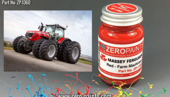 Massey Ferguson Red Paint 60ml - Zero Paints