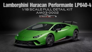Lamborghini Huracan Performante LP640-4 - Alpha Model