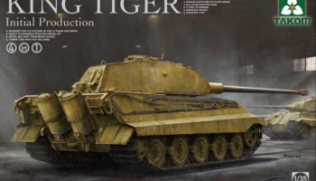 King Tiger Inital Production - Takom