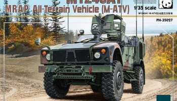 M1240A1 MRAP All-Terrain Vehicle (M-ATV) (1:35) - Panda Hobby