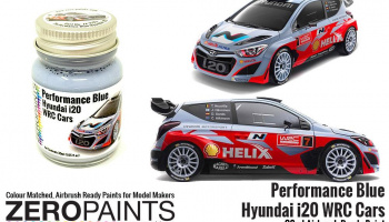 Hyundai i20 WRC Performance Blue Paint 30ml - Zero Paints