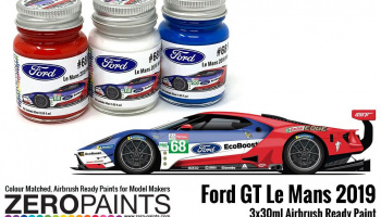 #68 Ford GT Le Mans Paint Set 3x30ml - Zero Paints