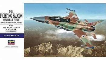 F-16 I Fighting Falcon Israeli Air Force (1:72) - Hasegawa