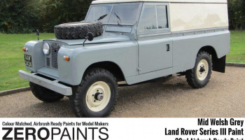 Land Rover Series III Mid Welsh Grey Paints - 30ml - Zero Paints