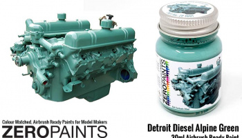 Detroit Diesel Alpine Green Paint 30ml - Zero Paints