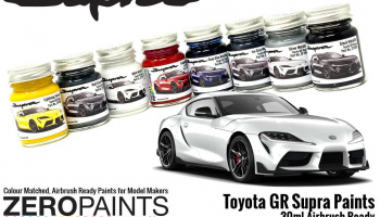 Toyota GR Supra Silver Metallic Paint 30ml - Zero Paints