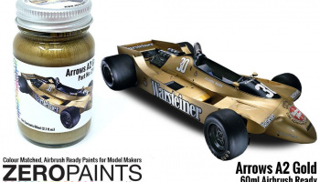 Arrows A2 Gold Paint 60ml - Zero Paints