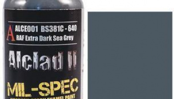 RAF EXTRA DARK SEA GREY (BS381C-640) - 30ml - Alclad II