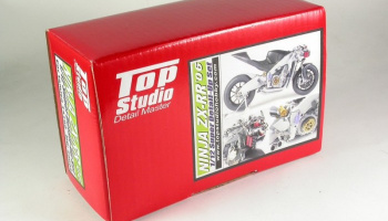Kawasaki Ninja ZX-RR Super Detail-Up Set - Top Studio