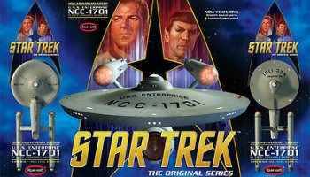 Star Trek U.S.S. Enterprise NCC-1701 50th Anniversary Edition - Polar Lights